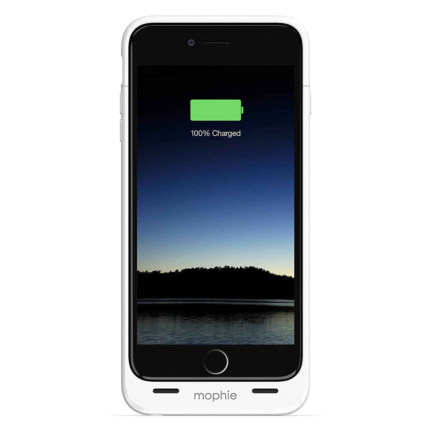 buy popular 09ccf 72450 mophie juice pack - Protective Battery Case for iPhone 6 Plus/6s Plus ONLY  (2,600mAh) - White