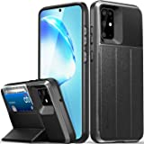 """Vena vCommute Wallet Case Compatible with Samsung Galaxy S20 Plus / 20+ (6.7""""-inch), (Military Grade Drop Protection) Flip Le"""