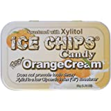Ice Chips Hand Crafted Candy Tin Orange Cream - 1.76 oz