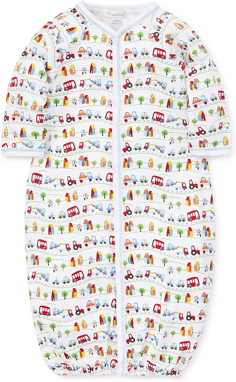 Kissy Kissy Baby-Boys Infant Traffic Print Convertible Gown