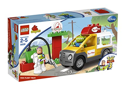 Amazon Com Lego Duplo Toy Story Pizza Planet Truck 5658 Toys Games
