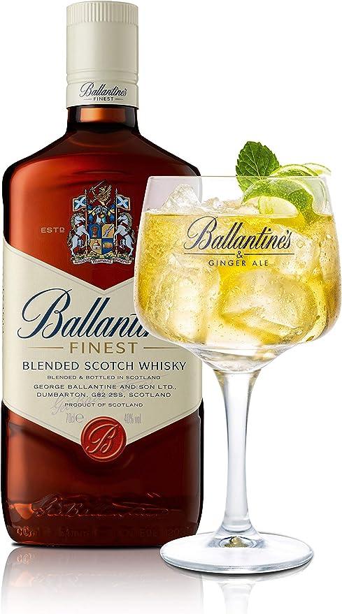 Ballantines Whisky - 1 Botella: Amazon.es: Alimentación y bebidas