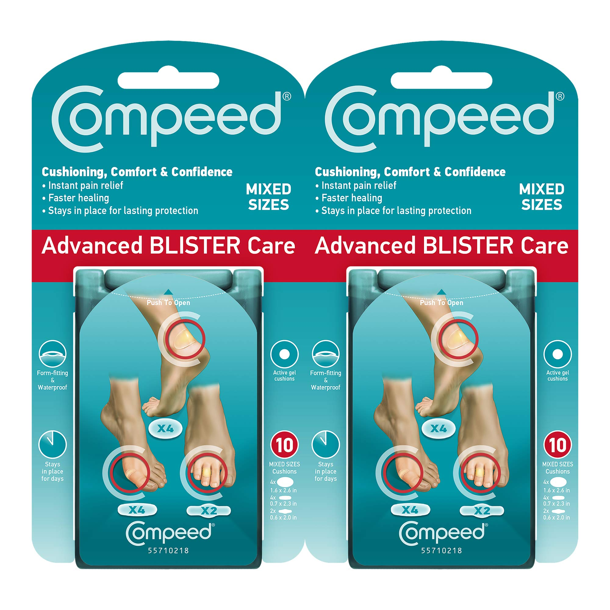 Compeed Advanced Blister Care Cushions by Compeed