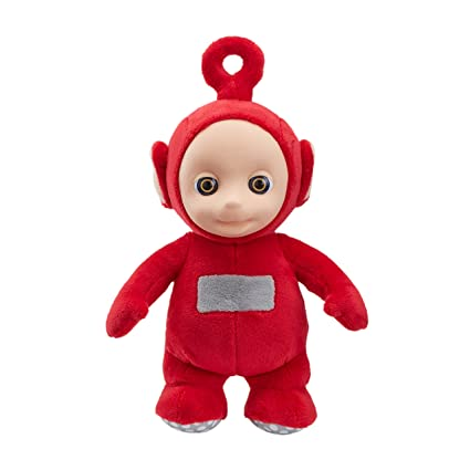 Amazon Com Teletubbies 26cm Talking Po Soft Plush Toy By Character Options Toys Games