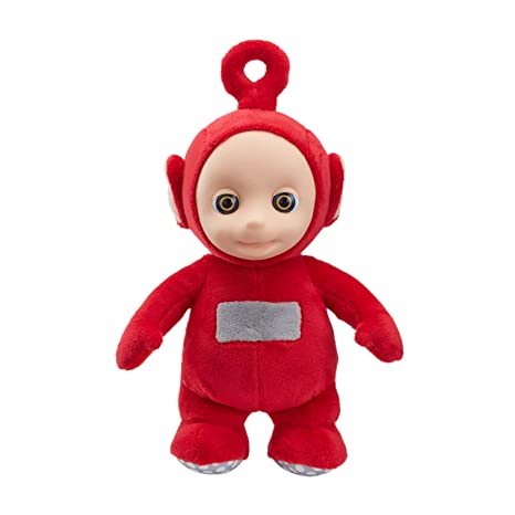 Teletubbies 06107 Cbeebies Talking Po Soft Toy Red Character Options Amazon Co Uk Toys Games
