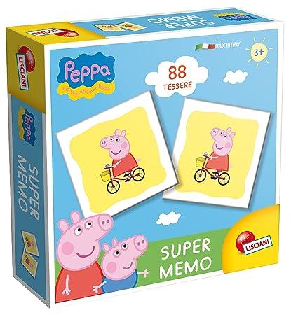 Amazon.com: liscianigiochi 43903 – Peppa Pig Memo: Toys & Games
