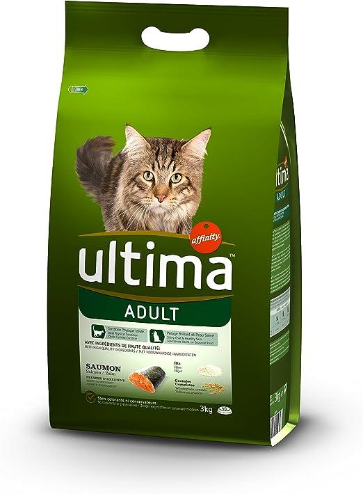 Ultima - Alimento seco para gatos esterilizados, pollo y cebada ...