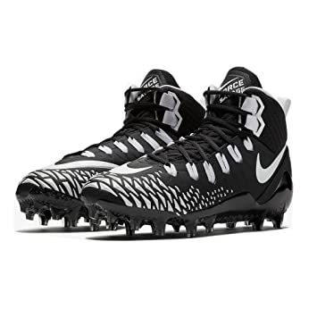 official photos bad47 562b4 Nike Force Savage Pro American Football Rasen Schuhe - schwarzweiß Gr.  10.5 US