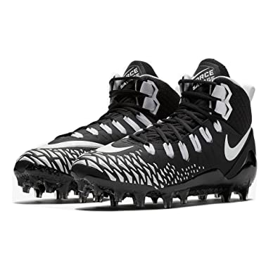 competitive price aed21 01f25 Nike Men s Force Savage Pro Football Cleat (9 M US, Black White)