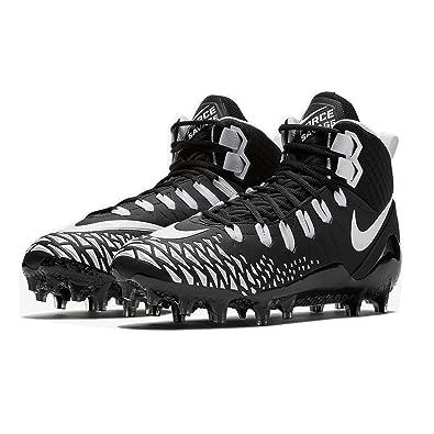 quality design e91a1 654ca Nike Mens Force Savage Pro Football Cleat (9 M US, BlackWhite)