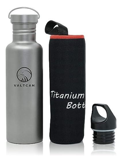Amazon.com: Valtcan - Bote de titanio para bebidas, 750 ml ...