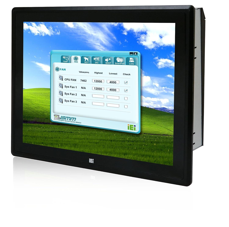 IEI 17インチ産業用タッチパネルPC インテルCore i3 4330搭載 静電容量式タッチモデル PPC–F17AA–H81i-i3/4G/PC   B01MDOXEY0