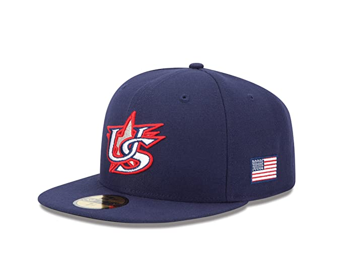 a8ab0ec1160 Amazon.com   World Baseball Classic 2013 United States Official On-Field  5950 Fitted Cap