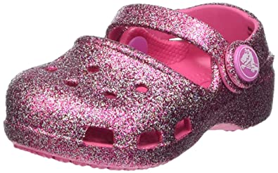 374d1327cebd99 Crocs Karin Sparkle Girl s Clogs  Amazon.co.uk  Shoes   Bags