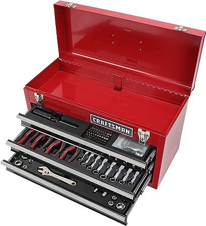 Craftsman 178 - Juego de herramientas con caja de herramientas de 3 cajones: Amazon.es: Bricolaje y herramientas