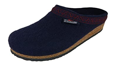 Men's Wool Clog Navy