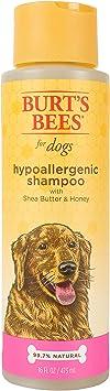 Burt's Bees Natural Hypoallergenic Dog Shampoo
