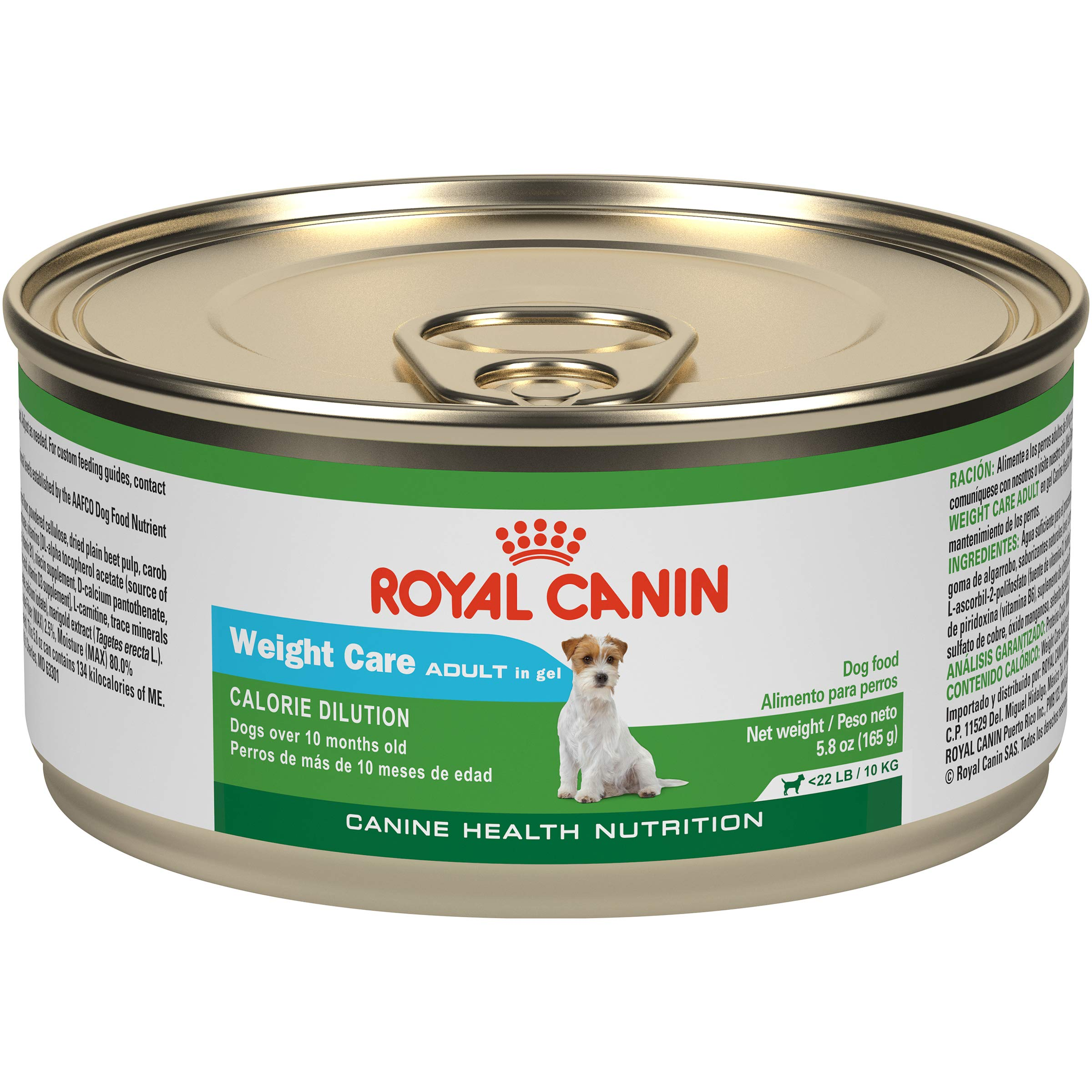 Royal Canin Canine Health Nutrition Adult Weight Care In Gel Canned Dog Food, 5.8 oz, (Pack of 24) by Royal Canin