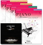 Faber Piano Adventures Level 1 Learning Library Set Lesson,Theory, Performance, Technique & Artistry Books and Juliet Music Ebook