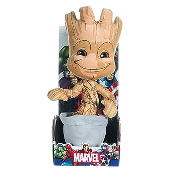 d990cc794d31 Marvel Les Gardiens de la Galaxie 25,4 cm Doudou Bébé Groot  Amazon ...