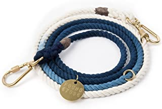 product image for Found My Animal Indigo Ombre Rope Dog Leash, Adjustable