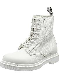 Dr. Martens Womens Pascal W/Zip Combat Boot