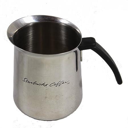 Starbucks café para espuma de acero inoxidable jarra, 20 ml ...