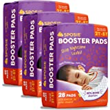 Sposie Overnight Diaper Booster Pads with Adhesive for Pull-on Diapers | Nighttime Leak Protection for Heavy Wetters and…