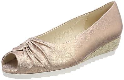Gabor Shoes Damen Comfort Sport Pumps, Mehrfarbig (Silber), 41 EU