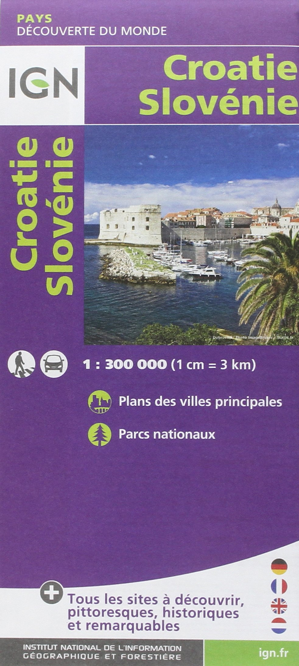 Amazon.fr   86114 CROATIE/SLOVENIE 1/300.000   COLLECTIF   Livres