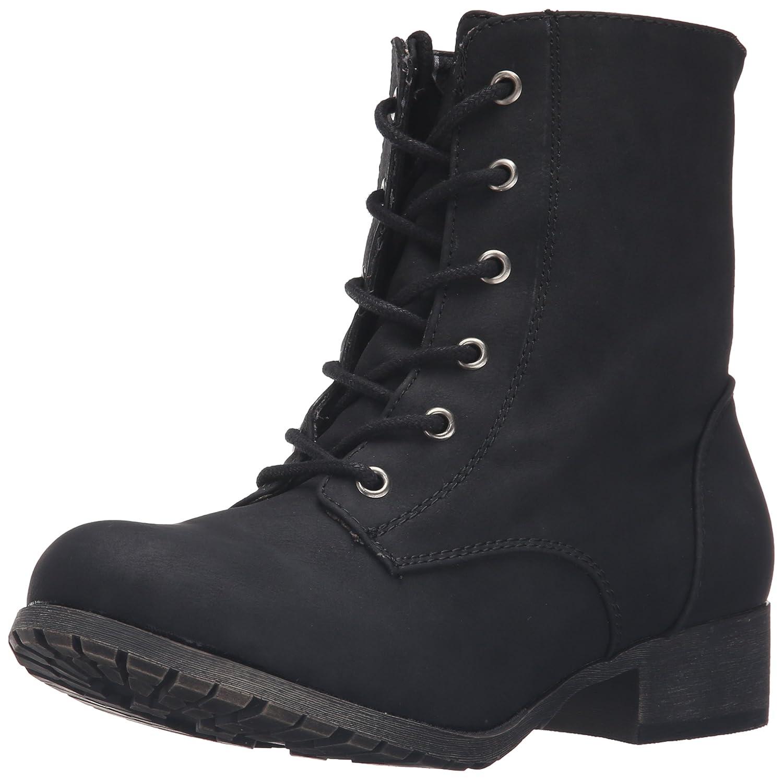 Jellypop Women's Freddy Engineer Boot B01CV9YR3S 8.5 B(M) US|Black Distress