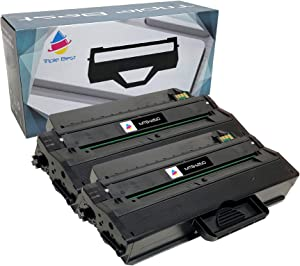 Triple Best Compatible Toner Cartridge Replacement for Dell B1260 B1265 B1265dfw B1260dn B1260dnf B1265dnf DRYXV (2 Pack)