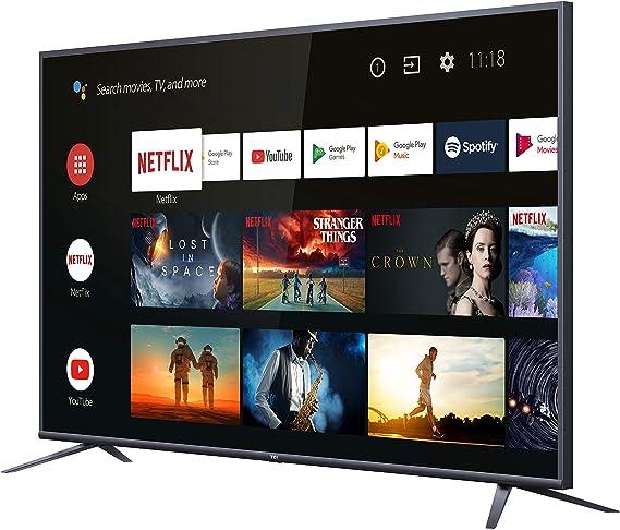 TCL 50DP660 Televisor 50 Pulgadas, Smart TV con Resolución 4K UHD, HDR10, Micro Dimming Pro, Android TV, Alexa, Google Assistant: Amazon.es: Electrónica