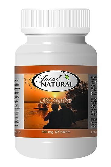 Amazon.com: ABC Senior 500mg 60t - [2 bottles] Vitamins And Minerals ...