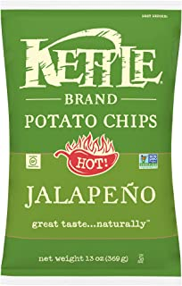product image for Kettle Brand Potato Chips, Jalapeno Bags, 13 Ounce (Pack of 10)