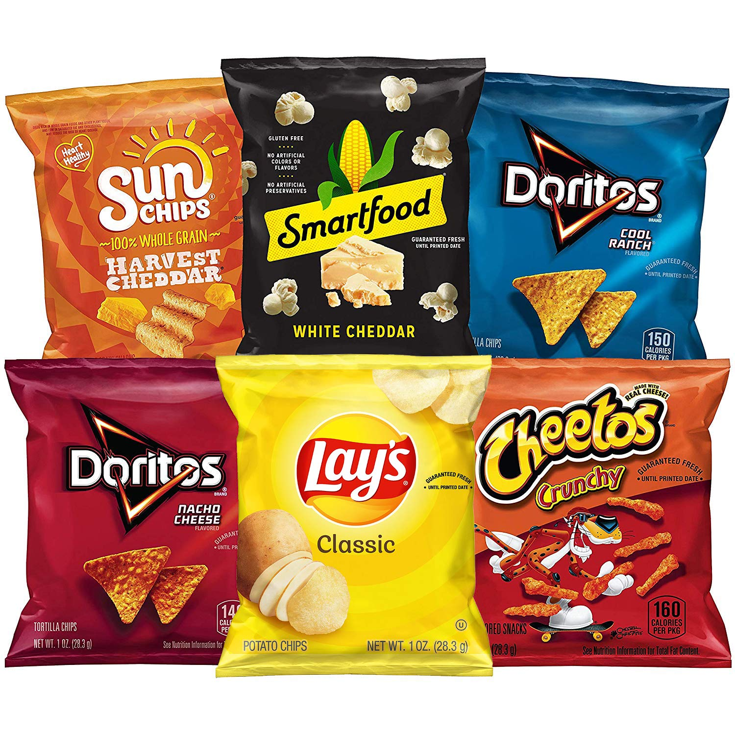 Frito-Lay Classic Mix Variety Pack, 35 Count