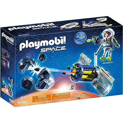 PLAYMOBIL Satellite Meteoroid Laser: Toys & Games