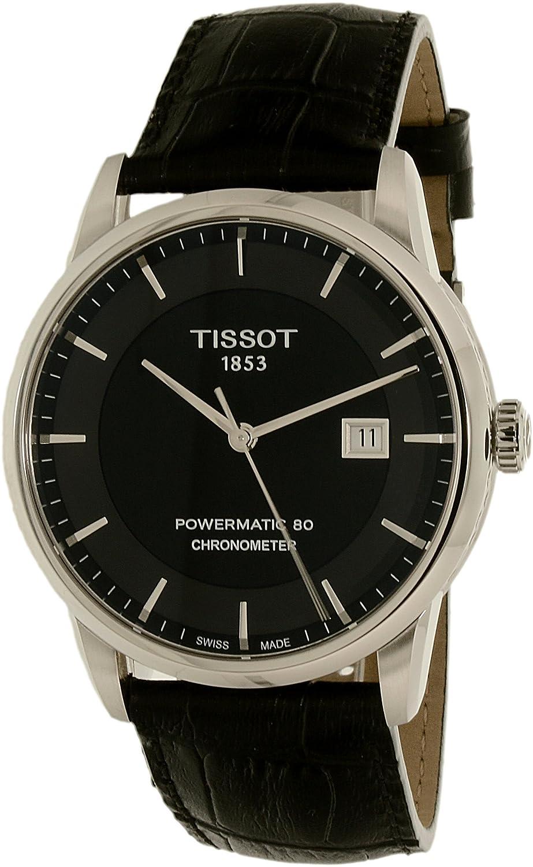 fd2e57ac2fc Amazon.com  Tissot Men s T0864081605100 Luxury Analog Display Swiss Automatic  Black Watch  Tissot  Watches