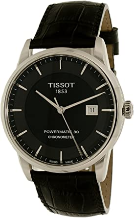 2088bd798d3 Image Unavailable. Image not available for. Color: Tissot Men's  T0864081605100 Luxury Analog Display Swiss Automatic Black Watch