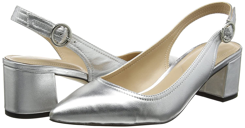 Aldo Damen Pumps Hayzel Slingback Pumps Damen Silber (81 Silver) 96dffa