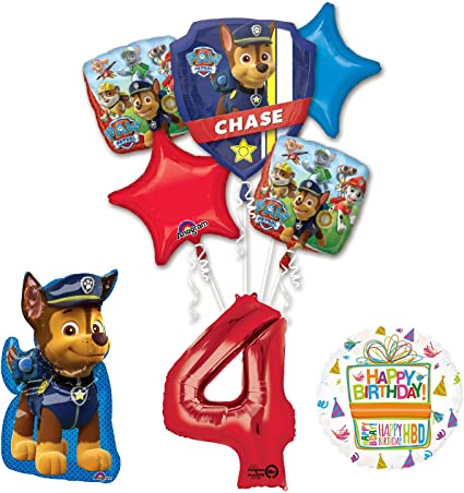 4th birthday badge small BIRTHDAY PARTY SUPPLIES
