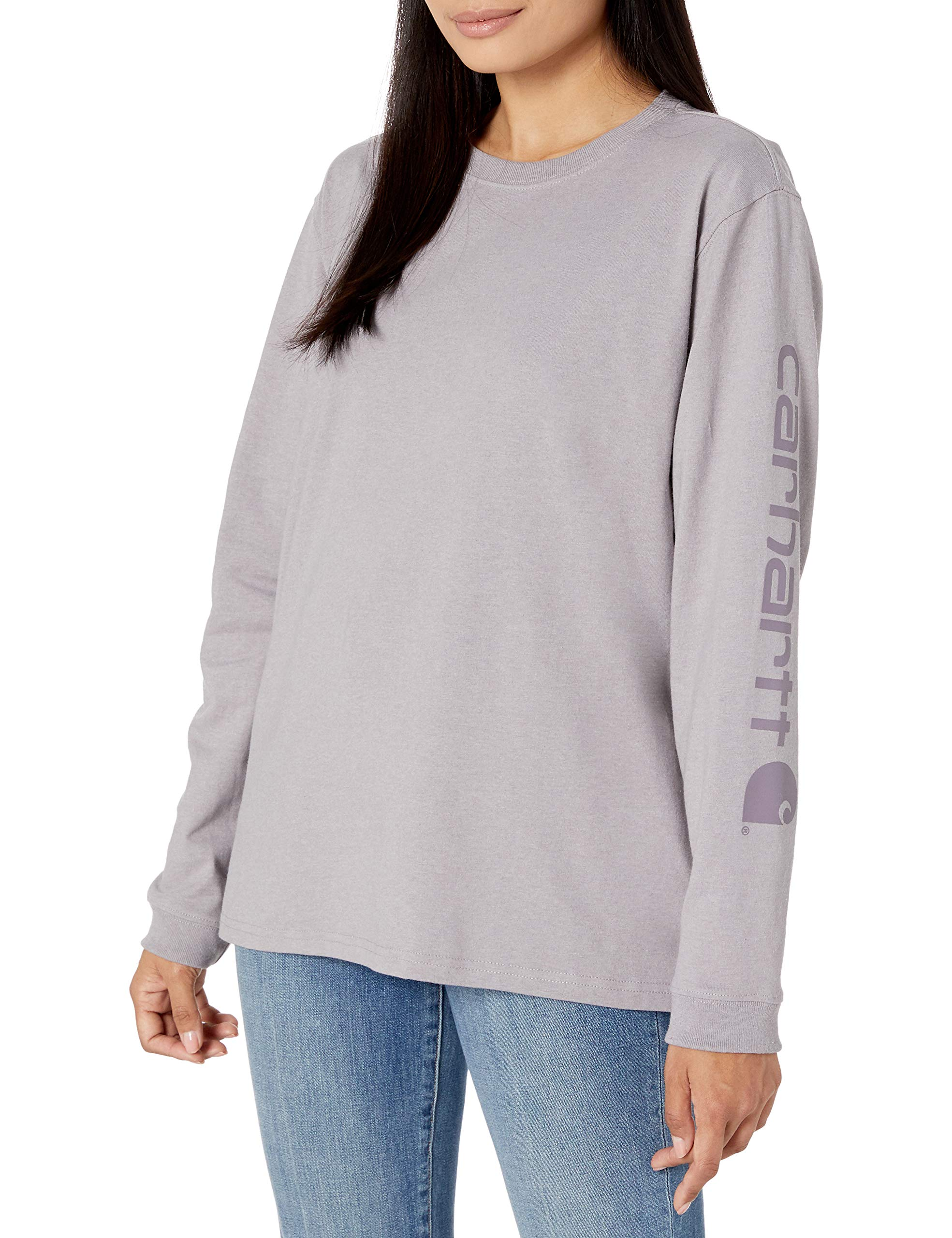 Carhartt Women's Regular Workwear Logo Long Sleeve T-Shirt