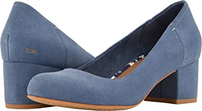 a9f91c3be4f TOMS Women s Beverly Infiinity Blue Suede 6 ...