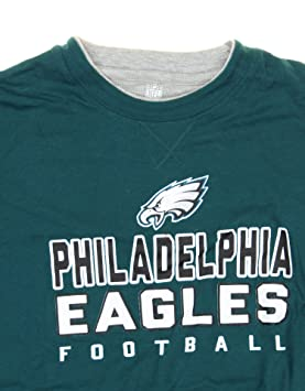 Amazon.com   Outerstuff Philadelphia Eagles NFL Youth Big Boys Long Sleeve  Faux Layered Shirt with Knit Beanie Hat Set   Sports   Outdoors 5fb8a727d