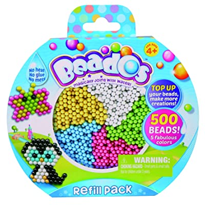 Beados 500 Beads Refill Pack: Toys & Games