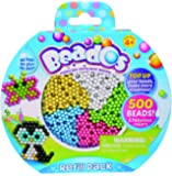Beados Toy Playset - Refill Pack - Contains 500 Beado's Beads in 5 Fabulous Colours