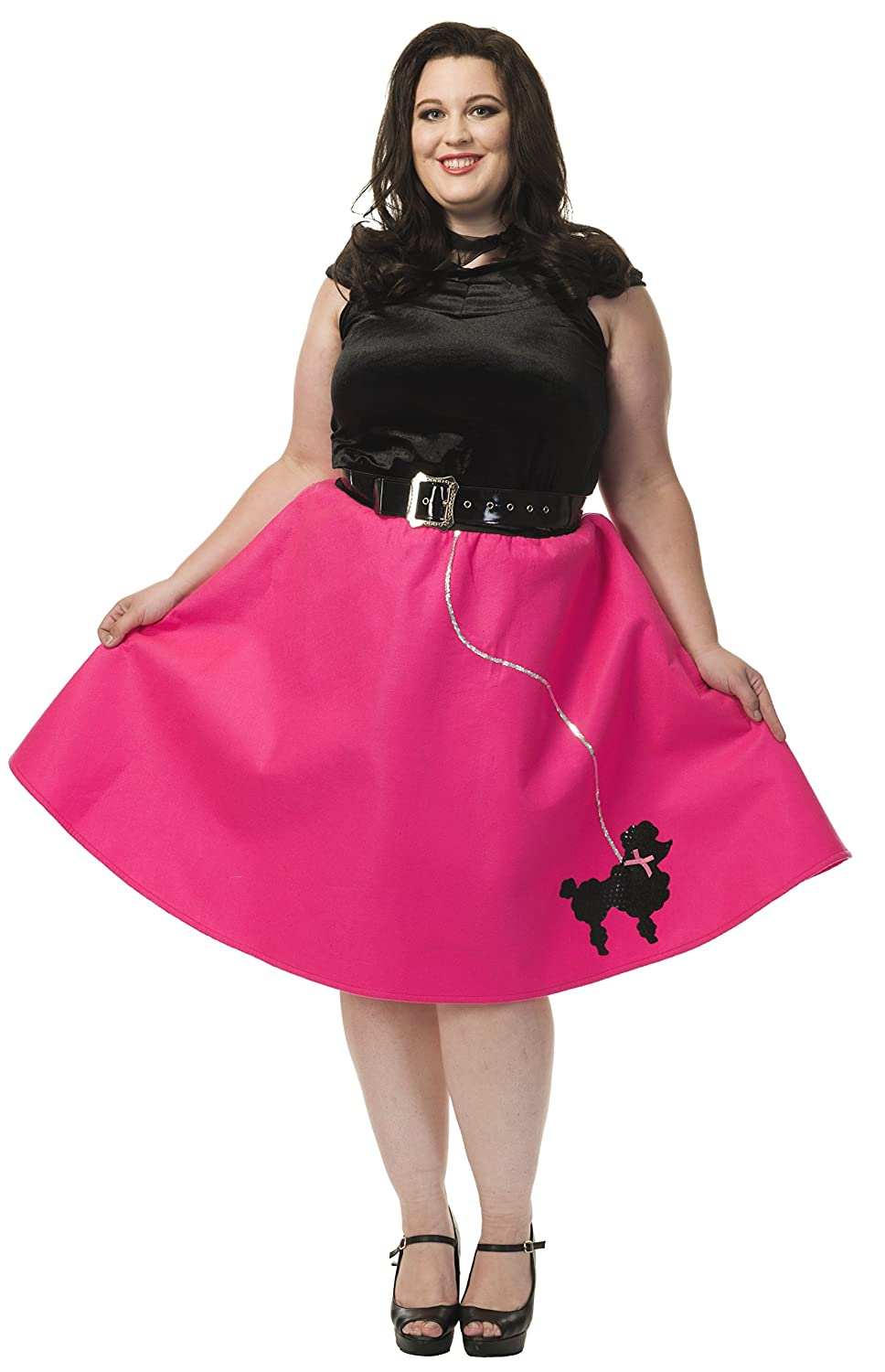 7d49d937375bc Diy Plus Size Poodle Skirt
