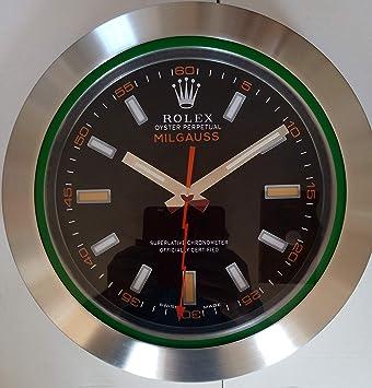 Rolex Reloj De Pared Milgauss Serie Rayo Mejores Muebles Para El Hogar: Amazon.es: Hogar