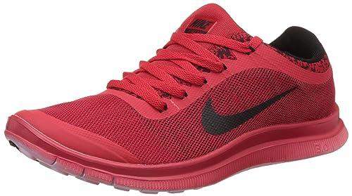 Nike Men's Free 3.0 Red Running Shoes