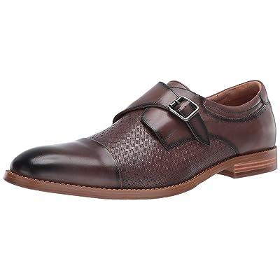 STACY ADAMS Men's Fenwick Cap Toe Monk Strap Loafer | Shoes